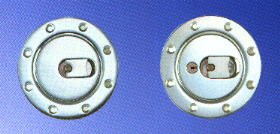 aircraft style gas caps
