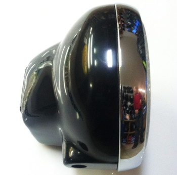 motorcycle cafe headlight