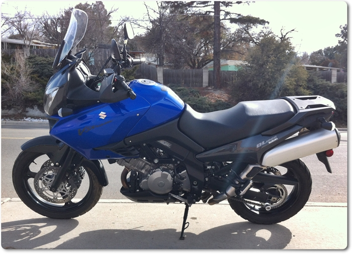 2007 Blue Suzuki Dl 1000 V Strom For Sale
