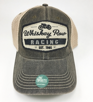 Whiskey Row Racing Hat - Trucker - Old Favorite