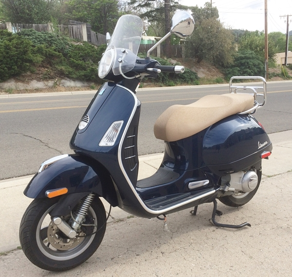 vespa gts 250ie for sale in prescott az. Black Bedroom Furniture Sets. Home Design Ideas