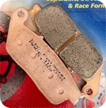 FA 196 kymco scooter brake pads